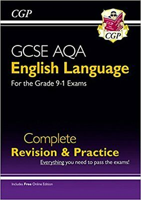 New GCSE English Language AQA Complete Revision & Practice - Grade 9-1 Course (w
