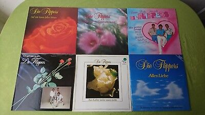 6 x DIE FLIPPERS inkl. Club Edition Top Sammlung unplayed ARCHIV LP ❤