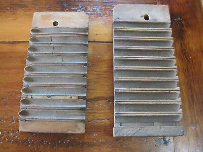 Old Antique Vintage Primitive Wooden Cigar Press Mold Man Cave/ Smoke Shop Decor