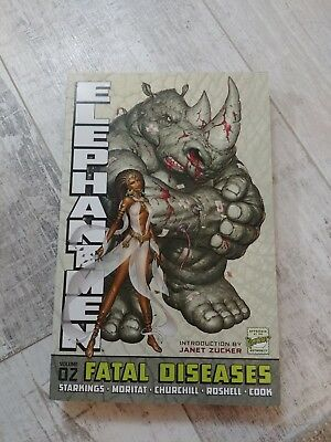 Elephantmen Volume 2: Fatal Diseases (Revised & Expanded Edition) (Elephantmen T
