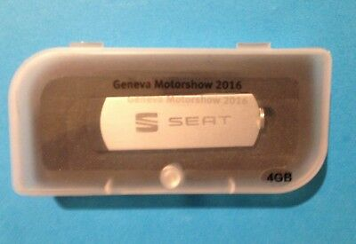 SEAT 2016 Geneva Motor Show Press Pack / Kit (4GB USB) SEAT Ateca