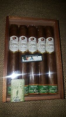 Crown Royal Apple Dipped Cigars, 5 per Case (Case Included)