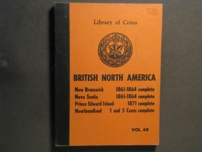 COIN ALBUM-BRITISH NORTH AMERICA Library of Coins Edition - 4 Pages
