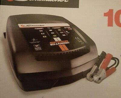 Schumacher Intelligent Speed Charge Battery Charger 10Amp 6/12V SCI10