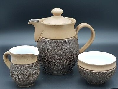 """Denby Langley  Pottery tea or coffee pot set """"cotswold"""""""