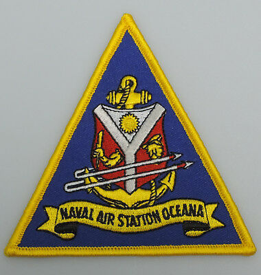 """UNITED STATES NAVY - Naval Air Station Oceana  4"""" Patch"""