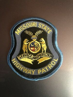 Missouri State Highway Patrol Patch