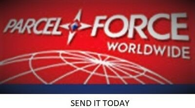 Parcelforce NEXT DAY 24hr Part Worn Tyres Delivery Service UK Up To 25kg