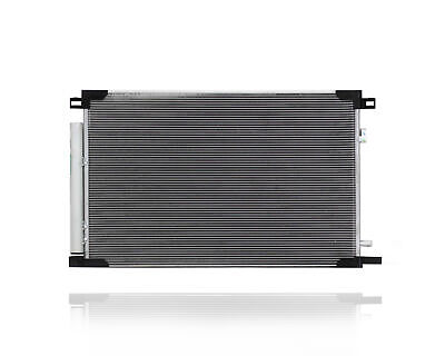 A-C Condenser Fit/For 30085 18-19 Toyota Camry Japan/MexicoBuilt w/ReceiverDryer