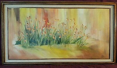 Original Irma Wallem  canvas oil painting