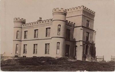 WIRRAL HESWALL - CASTLE DEMOLISHED c1935 CASTLE BUILDINGS ON SITE - R/P 1910.
