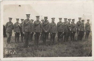 WIRRAL PARKGATE - 1st [CARNARVONSHIRE] WELSH RGA CAMP - REAL PHOTO POSTED 1914.