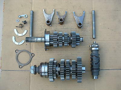 Suzuki Gsx650  F 2010 Mod Gearbox Parts Good Condition