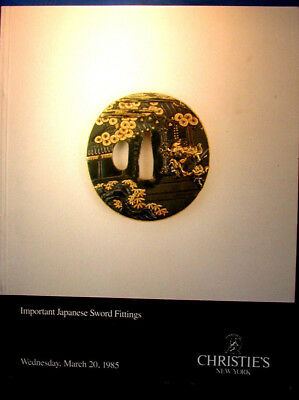 Catalog: Christie's Important Japanese Sword Fittings, 1985, Photos, Prices