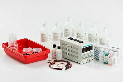 WOW: Electroforming AND Plating Kit for plating plastics, wood, glass, organic