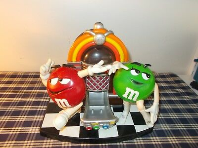 Collectible M&M Candy Dispenser Dancing Around Juke Box