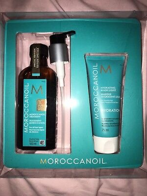 Moroccanoil Hair Treatment 100ml | 10yr special addition Hydrating Mask  FREE