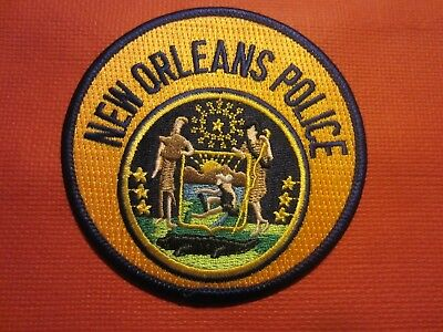 Collectible Louisiana Police Patch,New Orleans, New