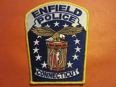 Collectible Connecticut Police Patch, Enfield, New