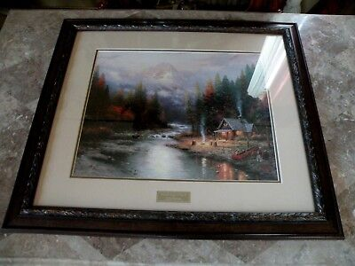 Thomas Kinkade End Of A Perfect Print Library Edition Picture Home Interiors