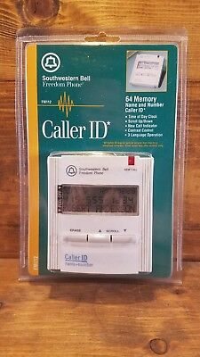 Southwestern Bell Freedom Phone New FM112 Name & Number Caller ID 50 Memory