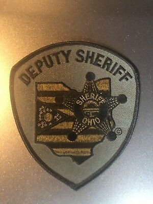 Ohio Deputy Sheriff Subdued Tactical Patch