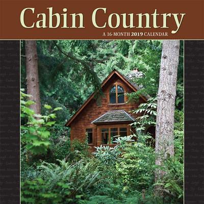 Cabin Country - 2019 Wall Calendar - Brand New - Scenic 602924