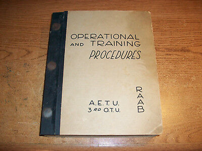 World War 2 Engineer Training Manual Aetu Reno Army Air Force Base 1944 Wwii