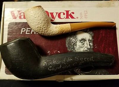 Vintage Pioneer Meerschaum Pipe with Case Used