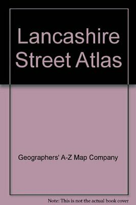 Lancashire Street Atlas by Geographers' A-Z Map Company Spiral bound Book The