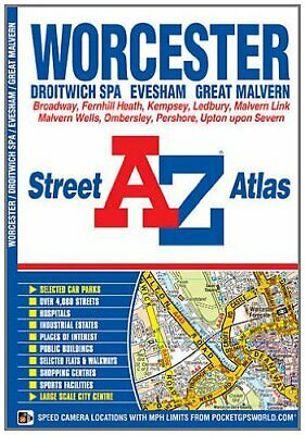 Worcester Street Atlas (London Street Atlases) by Geographers' A-Z Map Company