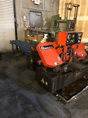 Amada Saw HA250   Horizontal Band Saw