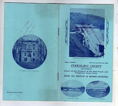 Super c1900 Stanislaus County California 16-Page Homeseekers Booklet