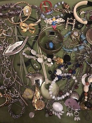 Lot of Vintage & Modern Costume Jewelry - All Good & Wearable