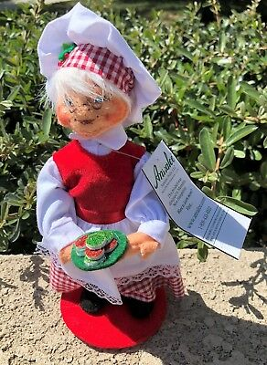 Nwt Annalee Collectible Dolls Christmas Retired Mrs Chef Santi #400 413  2013