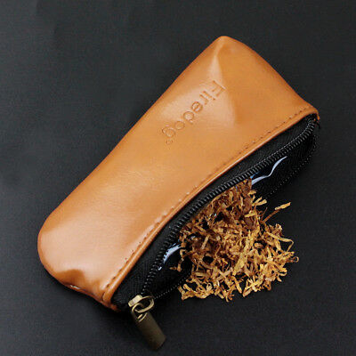 Tobacco Pouch Bag Case Holder Leather Vintage Durable Cigarette Smoking Pipe