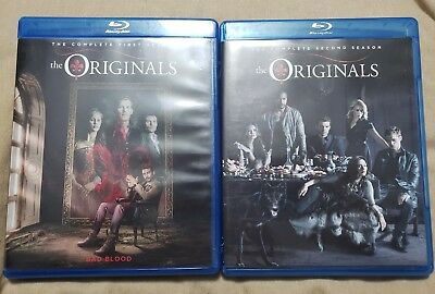 THE ORIGINALS complete first & second season 1 & 2 Blu-ray Box Set ~ Lot of 2!!