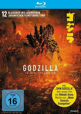 Godzilla - 12-Disc Collection Limited Edition  [12 BRs]
