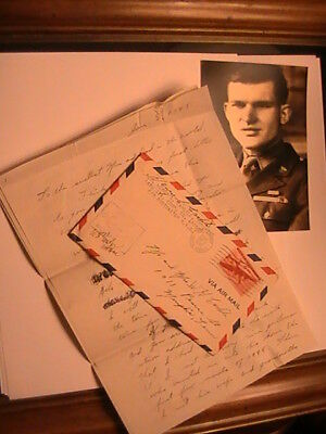 Ww2, My Personal 3-Page Letter, Cover,censor Stamp, My 1943 Photo