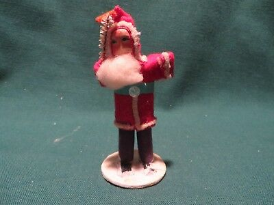 "Vintage Small ""Japan"" Santa Figurine"