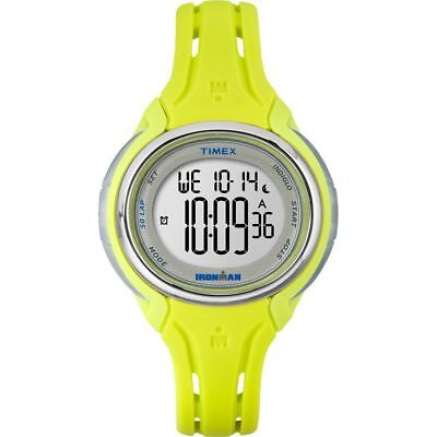 Timex Women's 'Ironman Sleek 50' Quartz Resin and Silicone Running Watch, Color: