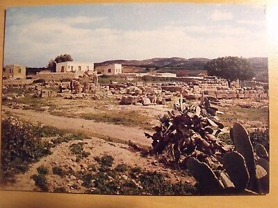 Unposted colour postcard of The ruins of the famous Temple of Venus Cyprus