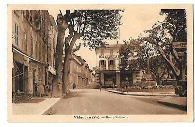 Vidauban, route Nationale..1939