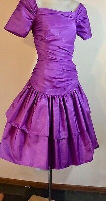 Vintage 1980s FORMAL DRESS PARTY TIME size 8 DRESS UP, Cocktail RACES Night OUT