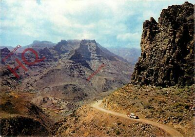 Postcard:;Gran Canaria, Barrancos Y Cumbres Del Sur, Peaks And Ravines In South