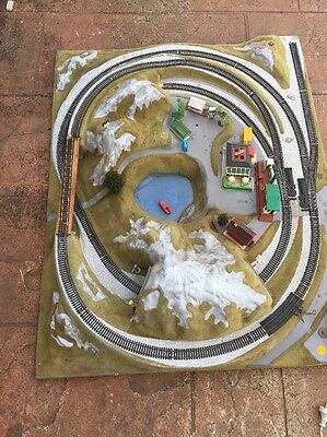 Model Train Display
