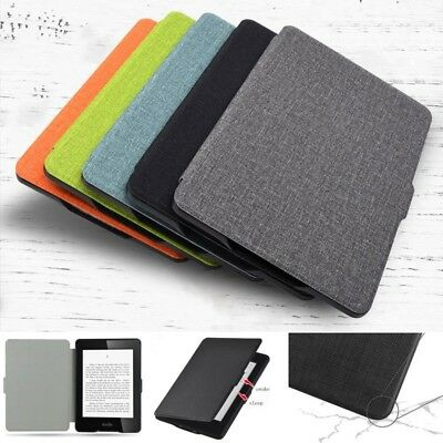 Smart Wake up Magnetic Case Cover for Amazon Kindle Oasis2 Voyage Paperwhite 123
