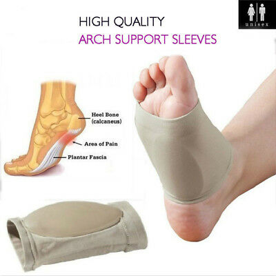 Plantar Fasciitis Arch Support Pads Feet Pain Relief Foot Compression Socks AU