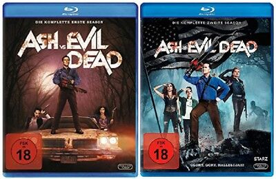 Ash vs Evil Dead Staffel 1+2 Blu-ray Set NEU OVP