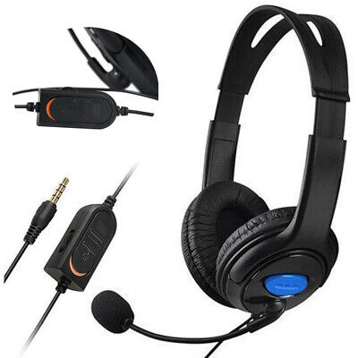 Wired Gaming Casque de Jeux Headset avec Microphone pour Sony playstation 4 PS4